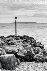 Ringstead Bay (mh218) Tags: bw dorset media portlandbill ringstead bay beach book bookcover coast coastal coastline jurassic monochrome rocks sea seascape shingle view viewpoint water