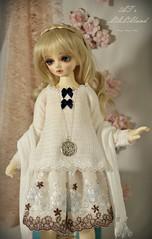 new casual outfit (ATsuri AT's LALAland) Tags: bjd dollfie dress casualoutfit romantic mori msd volks midi minifee chloe fairyland bluefairy shop handmade toppi