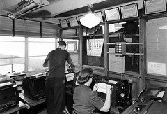 Chicago Municipal Airport -  Early Weather Bureau (twa1049g) Tags: chicago municipal airport weather bureau 1940 midway