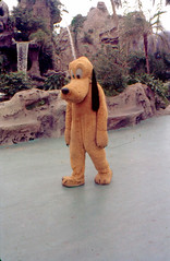 Pluto, 1962 (Tom Simpson) Tags: disney disneyland vintage vintagedisney vintagedisneyland 1962 1960s pluto