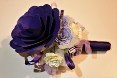 Wedding Craft (ambergriffiths) Tags: papersculpture weddingflowers paperflowers papercraft