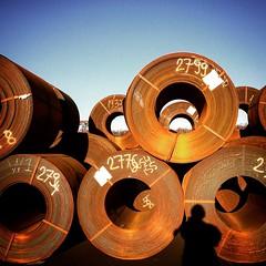 da bin ich (Bim Bom) Tags: steel coils saarland