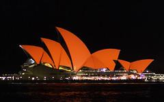 Red Sails (Bass Photography) Tags: sydney sydneyharbour sydneyoperahouse chinesenewyear redsails architecture australia australiansuburbs night nightphotography nightlife therocks circular quay
