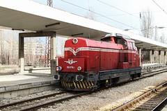 BDZ 55 078, Poduyane 2013-02-03 (Michael Erhardsson) Tags: diesel lok järnväg diesellok bdz bulgarien resa 2013