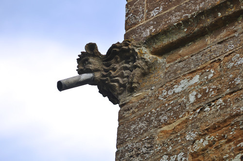 Preston, Rutland, St. Peter & Paul, tower, gargoyle