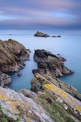 A Long Exposure at Froward Point (Julian Baird) Tags: rock tidal water nd longexposure filters devon daytime southwestcoastpath tide landscape wave seascape sea lightroomcc island bigstopper ndgrad leefilters coast cliff coastal kingswear england unitedkingdom gb