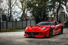 V12 power. (David Clemente Photography) Tags: ferrari ferrarif12 ferrarif12berlinetta f12 ferrarif12tdf f12tdf f12berlinetta f12tourdefrance tdf tourdefrance v12 supercars automotivephotography nikonphotography