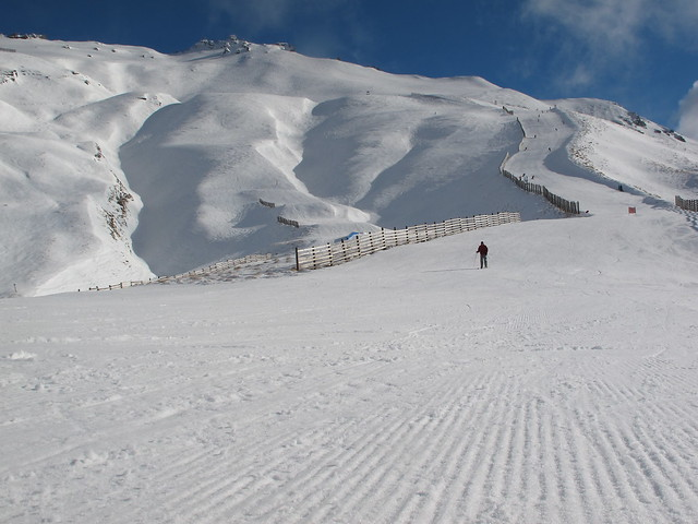 Raffills Run & the Saddle Basin - Treble Cone, Wanaka NZ (29.7.2014)