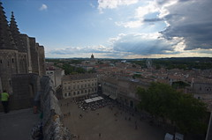 0370 - Europatour 2014 - Frankreich - Avignon - Pabstpalast (uwebrodrecht) Tags: france castle frankreich europa schloss avignon palast uwe papst brrodrecht