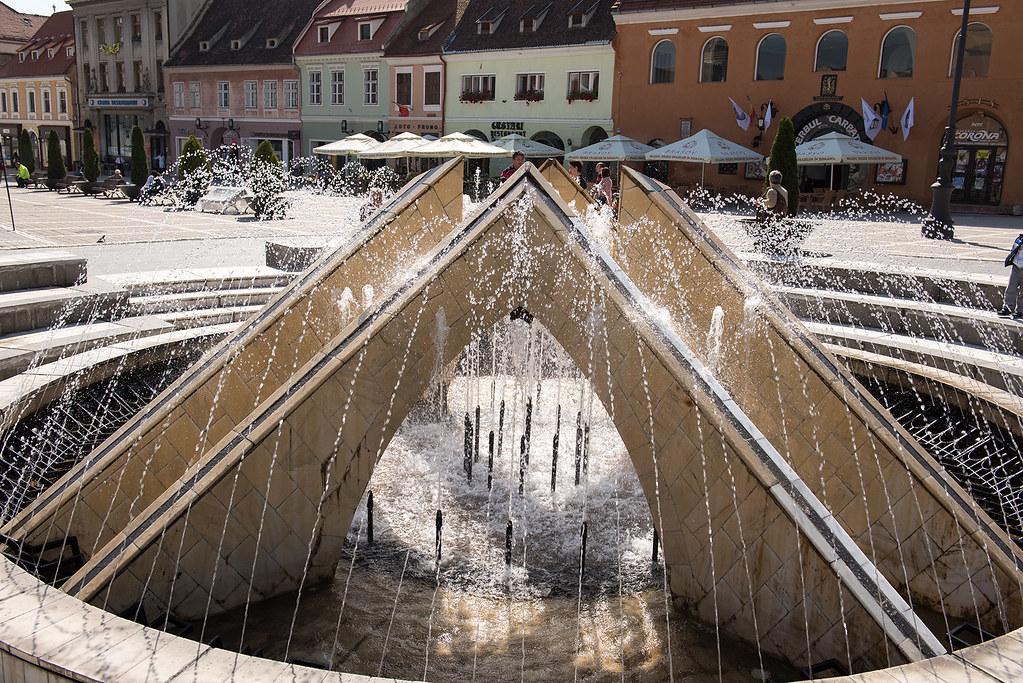 фото: Fountain. Brasov