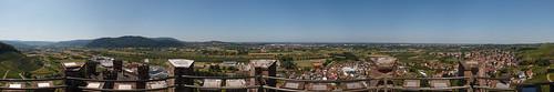 Panorama depuis le Château d'Ortenberg