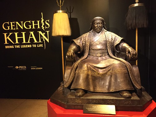 Genghis Khan Exhibit by Wesley Fryer, on Flickr