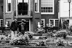 The Case Of The Missing Flowers (Noonski) Tags: flowers en white black amsterdam garden photography nikon missing case zwart wit the of