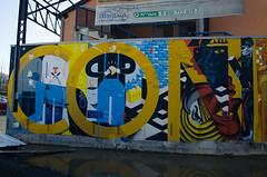 Nantes, 100 Pression, Pedro-Kazy-Smoka (Zerbi Hancok) Tags: france nantes 100pression graff graffiti street wall persu smoka kazy pedro wide nantesstreetart nantesgraffiti urbanart arturbain art