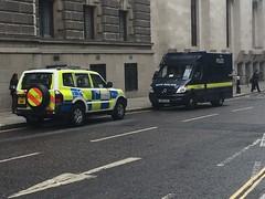 London service vehicles (Ninja Medic) Tags: england london mercedes riot cops police vehicle guns shield met emergency armour metropolitan coppers response armedpolice criminals riotvan