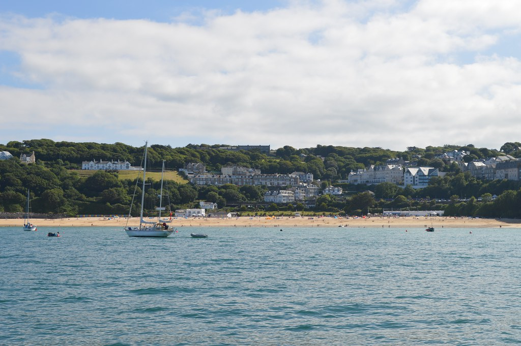 Porthminster beach from the bay