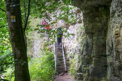 Wandern in der Wutachschlucht (HikerandBiker) Tags: hiking wald schwarzwald blackforest wandern wanderung wutachschlucht wutach a99 sony2875mmf28sam sonyslta99v sonyalpha99