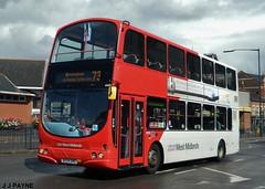National Express West Midlands (4669) Wright Gemini - BX54 DHG (J.J.Pay 8581) Tags: uk bus volvo birmingham transport midlands bx54dhg