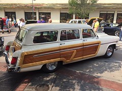 1954 Mercury Monterey Woodie Station Wagon - 4 (Alan Taylor - ERN) Tags: monterey mercury 1954 stationwagon ern hotaugustnights woodie alantaylor 2015