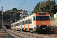 447 PMR a Barcelona (Ja. Martín) Tags: 447 ut447 447132 renfe rodalies rodaliesrenfe barcelona montgat montgatnord r1 trainspotting trainspotter train caf