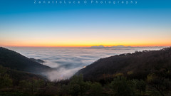 Alba dai Colli Berici 12/2016 (lucazanotto8) Tags: nebbia fog sky vicenza veneto italia sunrise hills euganei berici colli alba