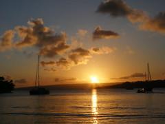 Sunset, Vanuatu!