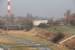 Poznań 23.01.2017 (szogun000) Tags: poznań poland polska city buildings meadow desolate bridge overpass heatingplant wielkopolskie wielkopolska greaterpoland canon canoneos550d canonefs18135mmf3556is
