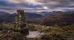 Look out (alexwatphoto) Tags: mountains mountain lake district england sun set hills hiking travel landscape nature ambleside langdale view