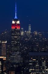 NH0A6305s (michael.soukup) Tags: newyork newyorkcity skyline manhattan empirestate worldtradecenter cityscape sunset dusk skyscraper citylights architecture midtown rockefeller 30rock tower bluehour nyc building