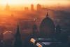 Berlin - Dom Sunset (030mm-photography) Tags: rot berlin skyline berlinerdom dom sakral church dome sunset sonnenuntergang alexanderplatz capital cityscape stadt hauptstadt sonnenstrahlen sunrays winter potsdamerplatz
