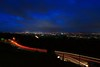 Light trail from Mount Coot-tha (Masoodz) Tags: light trail outdoor longexposure night brisbane mount coottha canon 650d efs1018mm wideangle famalin queensland australia