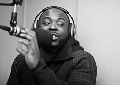 Cultural icon (bw) (Brotha Chris) Tags: taxstone taxseason tax podcast radio media hiphop culture nyc brooklyn queens harlem besafetho dj music twitter facebook comedy newyear 2017 missmilan baroline talk discussion jokes blackpower empower art artistry portrait portraits portraiture indoors indoor explore explored monochrome monochromatic canon 50mm