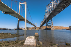 USA (ben_leash) Tags: blue eastbay bridge bridges tworoads bayarea california nikon d750 20mm landscape bluesky carquinez