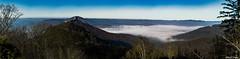 Trifels (WiSch | Foto) Tags: panorama tree travel mist peak idyllic countryside landscape nature scenery outdoor beautiful vastness sunlight environment foggy