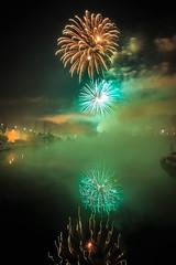 Happy new year (Explored 01.01.2017) (Ó.Guð) Tags: fireworks firework flugeldar flugeldasýning flugeldur show newyear 2017 óguð ogud olafurragnarsson ólafurragnarsson reflection speglun water waterblur iceland ísland icelandic explore explored outdoor