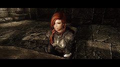Skyrim Project + Reality (Gamesbaul) Tags: skyrim bethesda stunning visual natural real enb mod reality steam pc nvidia women player character amazing colorful colors wild nature cave light dark shadow game videogame oblivion elderscroll armor sexy redhead wildlife houses streets sword epic gorgeous face beautiful fondo negro pretty best views scenery snow blizzard dragons darkness warrior shield detail