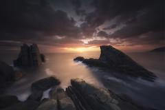 Last Light (Gian Paolo Chiesi) Tags: liguria voigtlander sunset seascape water long exposure