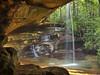 The Secret (Bill Fultz) Tags: funstonarchcomplex kentucky waterfall naturalarch