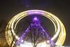 Vienna Giant Wheel (CoolMcFlash) Tags: viennagiantwheel construction architecture vienna austria longexposure night canon eos 60d sigma 1020mm 35 lowangleview light trails wiener riesenrad konstruktion architektur wien österreich langzeitbelichtung nacht beleuchtet lighted lichtspuren fotografie photography dynamik speed motionblur bewegunsunschärfe bewegung drehen spin