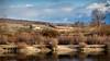 Etang de Varezieu sous un soleil hivernal (chapuis_sophie) Tags: 2017 eau hiver soleil reflets etangdevarezieu nuages etang janvier pond sun water winter