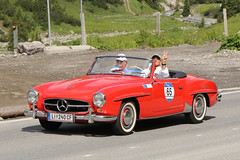 Mercedes-Benz 190 SL (1959) (Roger Wasley) Tags: mercedesbenz 190 sl 1959 arlberg classic car rally 2016 lech austrian alps alpine austria europe