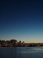 Eveningstar (Philip Hall Photography) Tags: vancouver falsecreek eveningstar sunset afterglow yvr