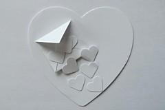 Just White Paper...... (tanyalinskey) Tags: valentines paper envelope macro hearts justwhitepaper macromondays