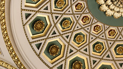 Gilded Coffers (Lawrence OP) Tags: libraryofcongress jefferson building washingtondc roses gold coffer ceiling classical