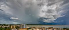 Darwin clouds (NettyA) Tags: 2016 australia darwin nt northernterritory city clouds evening panorama storm wetseason cloudscape