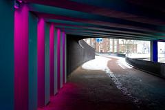 _DSC2666 (durr-architect) Tags: tunnel vision herman kuijer light installation dutch underpass zutphen netherlands architecture art designer artist colourful luminescent motorists cyclists pedestrians time space kcap baljon baauw royal haskoning dhv bam prorail train railway
