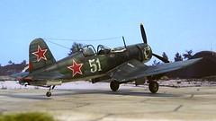 "1:72 Chance Vought F4U-1A ""Corsair"", aircraft ""51"" of an unknown Morskaya Aviatsiya (Soviet Naval Aviation) unit, VVS Pacific Fleet; Sea of Okhotsk, August 1945 (Whif/Academy kit) (dizzyfugu) Tags: 172 modellbau model kit academy f4u f4u1a lend lease usn usmc red star soviet group build pacific fleet naval aviation morskaya aviatsiya vvs sea okhotsk japan 1945 fictional chance vought whif whatif dizzyfugu"