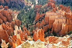 Bryce 9606_305 (Andras Fulop) Tags: usa utah nationalpark colorslide positivefilm landscape anno 1996 archive stone rock canyon sandstone