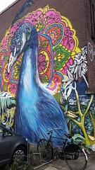 Be proud (Daniella Velings) Tags: peacock streetart graffiti eindhoven proud