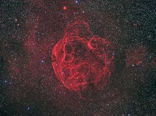 The Spaghetti Nebula, SH2-240